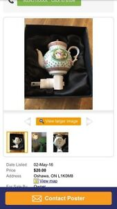 Teapot nightlight from Teaopia BNIB
