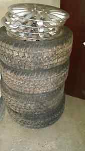 Saxon Snowblazer 205/55 R16 -  set of 4 tires on steel rims