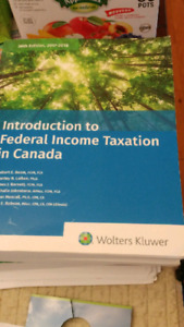 Introduction to Federal Income Taxation in Canada 38th Edition /
