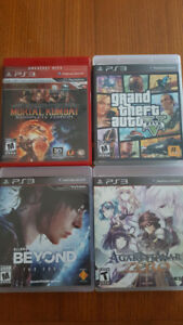 Lot of PS3 Games For Sale (Prices Marked)