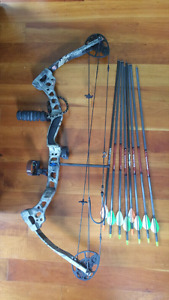 Diamond left handed compound bow