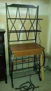 Wine rack/serving stand