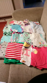 Bundle of girls clothes, age 6-7 yrs