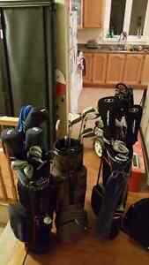 Golf clubs 2 full sets for sale!