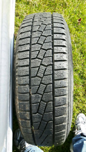 4 Snow tires P205/75 R14 with rims