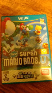 NEW SUPER MARIO BROS AND LUIGI BROS. WII U NINTENDO