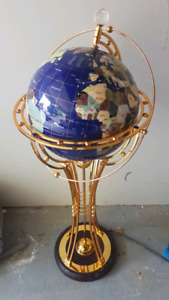 Decorative revolving globe