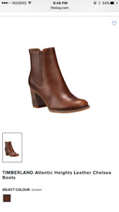 Timberland- Chelsea brown boots, brand new. Never used