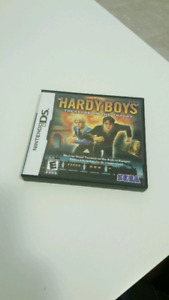 The hardy boys treasure on the tracks ds game
