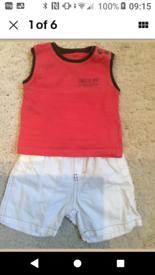 Designer bundle boys clothes 3/12months