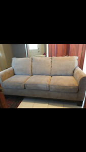 Couch ($325) and Sofa Chair ($150) - 1 year old