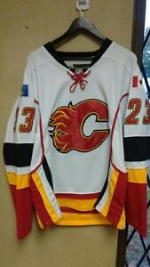 Authentic Calgary Flames NHL Jersey