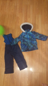 Boys snowsuit and winter jacket