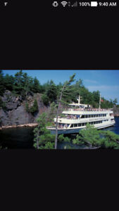 Island Queen Cruise , Parry Sound