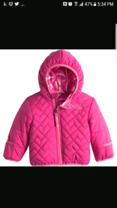 North face perrito jacket toddler girl