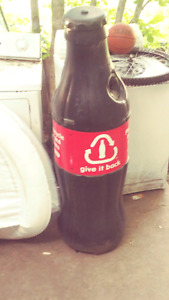Coca-Cola recycling bottle
