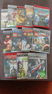 PS3 Games - 12 games all for $145
