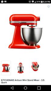 Brand new kitchen aid mixer