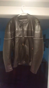 Screaming Eagle Leather Motorcycle Jacket