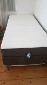 Ikea single bed with morgedal mattress 90x190cm