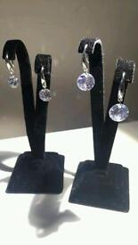 Brand new sterling silver 925 stamped earrings