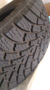Winter tires 2 pcs ONLY
