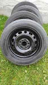4 pneus d hiver pour mazda 6 2005 205/55/16