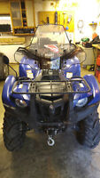 2009 Blue Yamaha Grizzly 700 With EPS