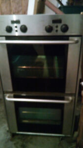"30""  double wall oven convection self cleaning Whirl pool"