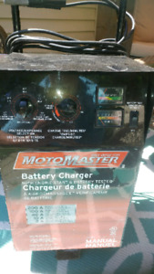 Motormaster battery charger 2/10/40/100/200A
