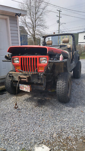 91 jeep new 31s for parts or repair