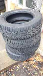 set of four 195/65r15 winter tires for sale
