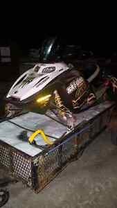 Parting out skidoo blizzard 800