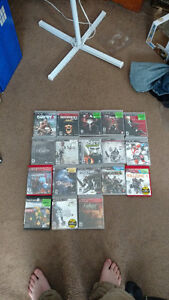 Selling 18 Ps3 games $10 for one $180 for all.
