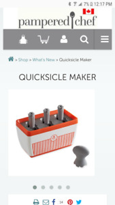 Pampered Chef-Quicksicle Maker