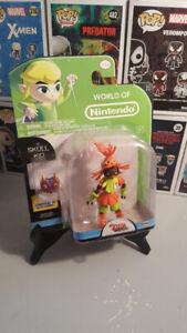 World Of Nintendo Skull Kid Zelda Action Figure
