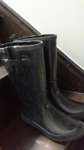 Rain boots girl, size 4