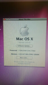 2009 Apple mac mini with monitor - STILL AVAILABLE