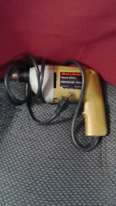 corded black and decker power drill