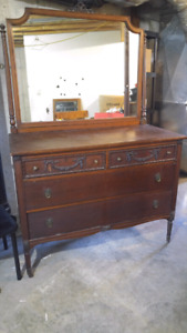 Classic large dresser with large mirror