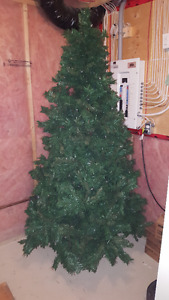 Christmas Tree Built in lights