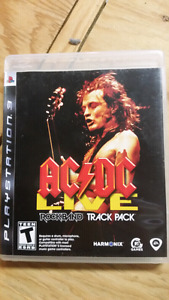 Ps3 ACDC rock band