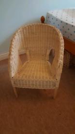 IKEA children's wicker chair