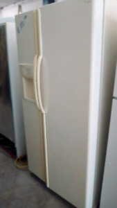 Side by side fridge freezer