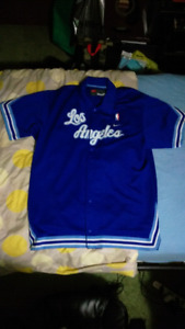 RARE Los Angeles/Minneapolis Lakers Throwback Warm Up Jacket