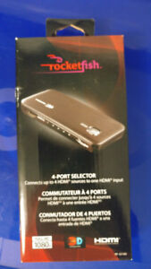 Rocketfish 4-Port HDMI Switch Box