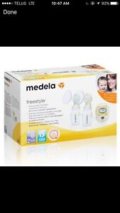 2016 New medela freestyle breast pump neuf double  tire lait