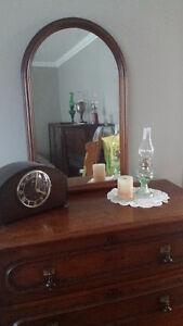 Antique Walnut Dresser - Good Condition