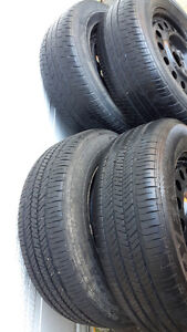Gm Rims and tires 225/60/16 Kitchener / Waterloo Kitchener Area image 2