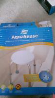 Aqua Sense Shower Stool Safety Rail
